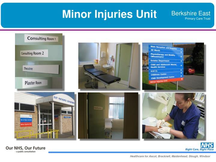 Minor Injuries Unit
