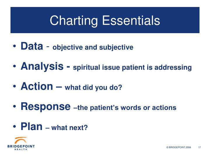 Charting Essentials