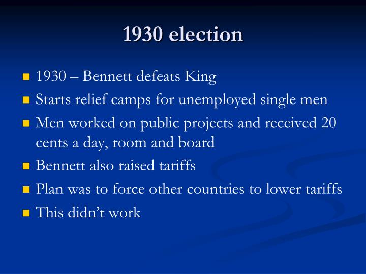 1930 election