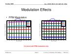 modulation effects