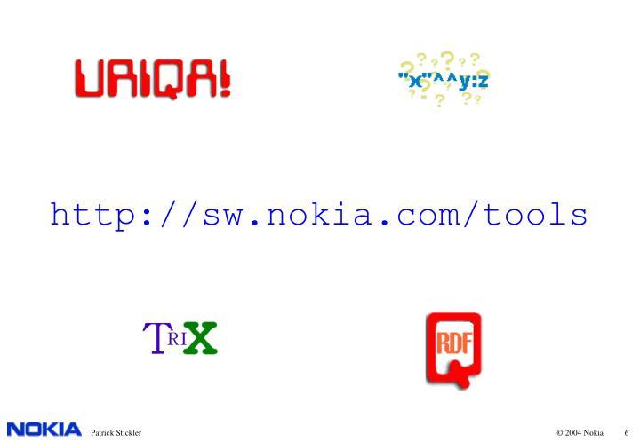 http://sw.nokia.com/tools