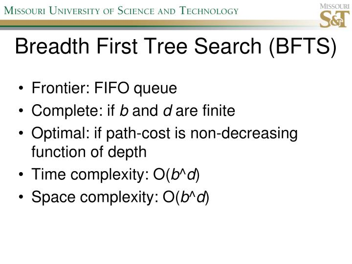 Breadth First Tree Search (BFTS)