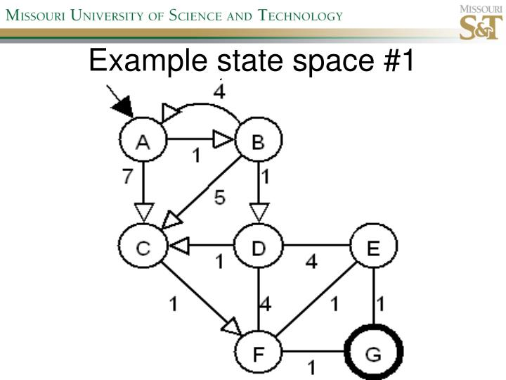 Example state space #1