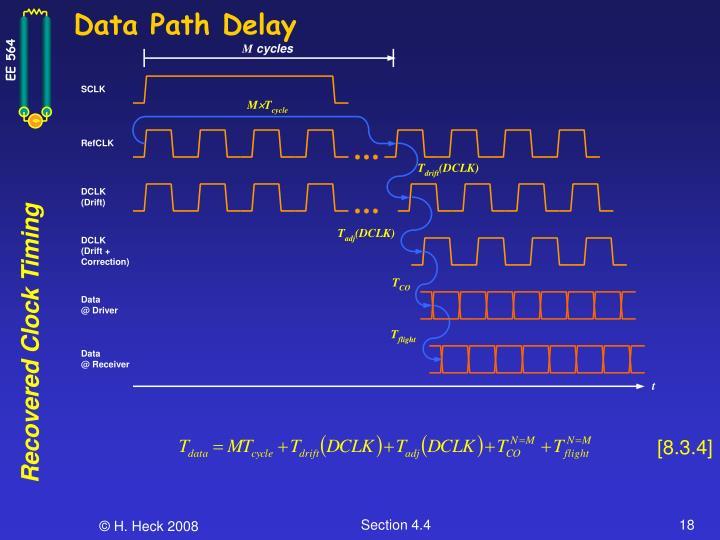 Data Path Delay