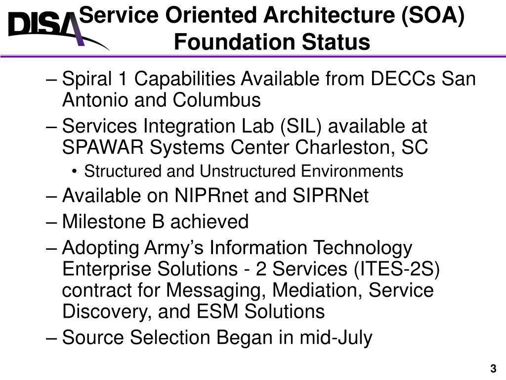 PPT - Net-Centric Enterprise Services (NCES) PowerPoint