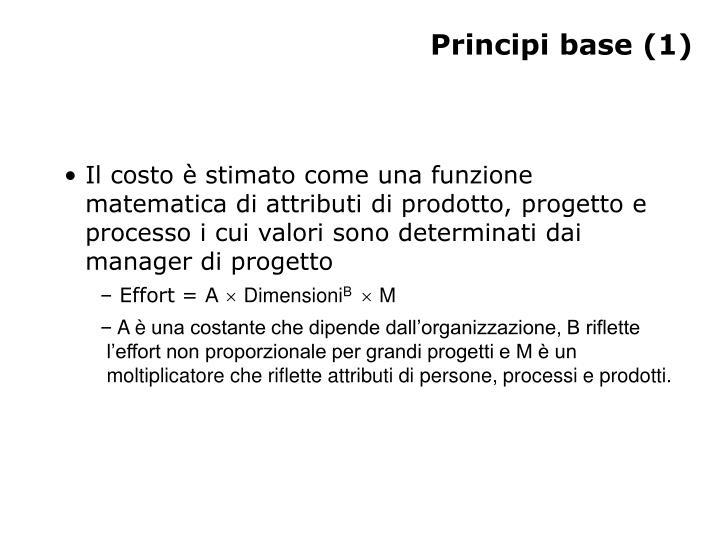 Principi base 1