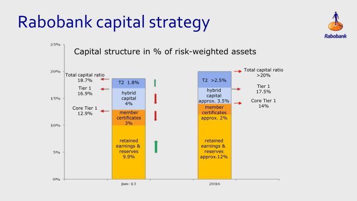 Rabobank capital strategy