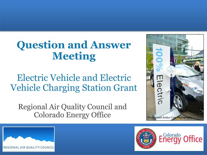 question and answer meeting electric vehicle and electric vehicle charging station grant n.