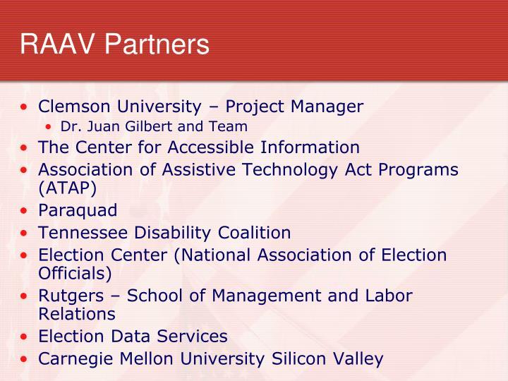 RAAV Partners