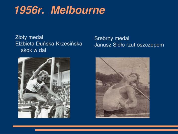 1956r.  Melbourne