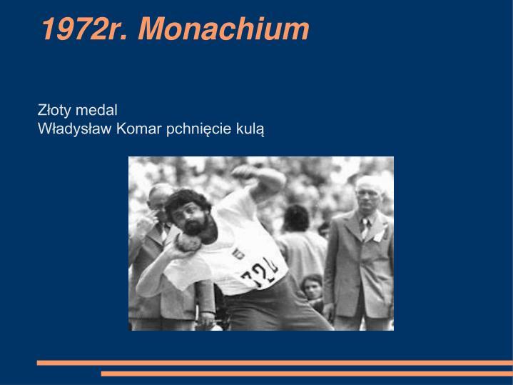 1972r. Monachium