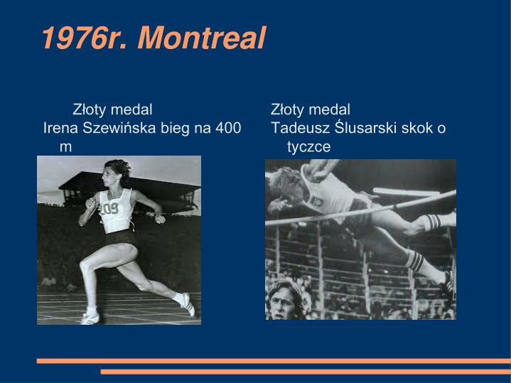 1976r. Montreal
