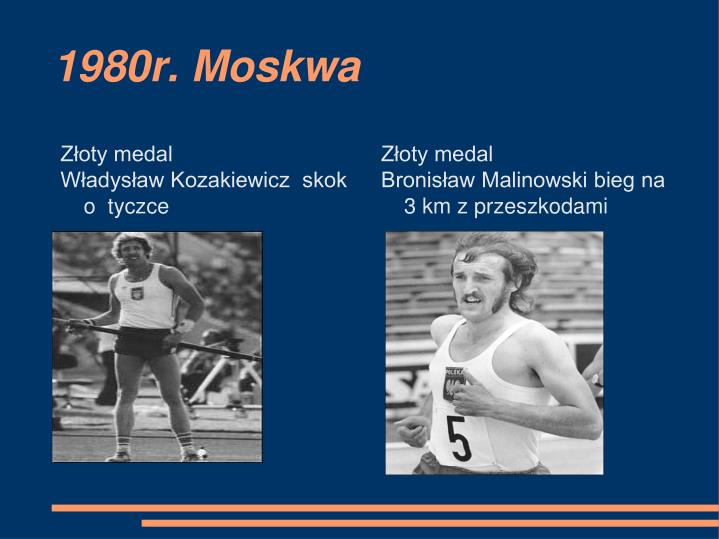 1980r. Moskwa