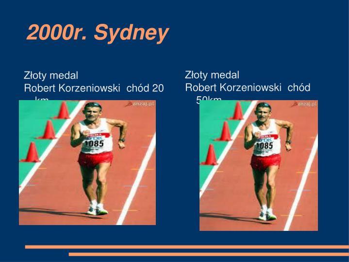 2000r. Sydney