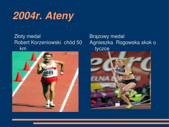 2004r. Ateny