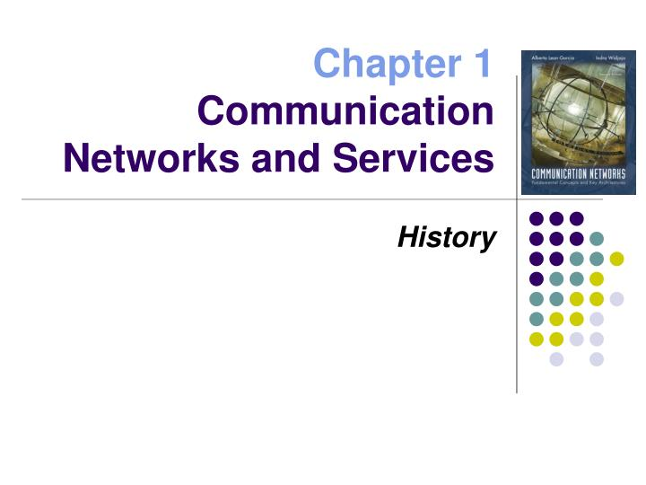 chapter 1 communication networks and services n.