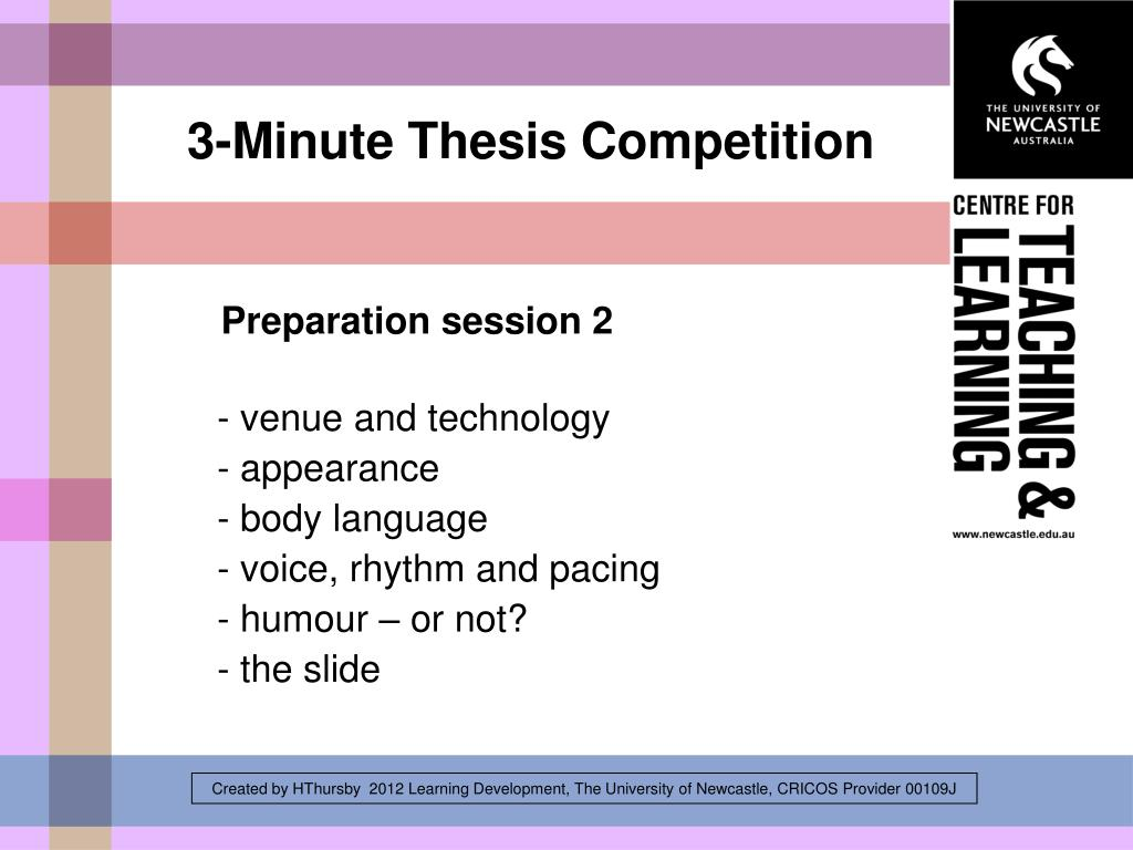 how to prepare powerpoint presentation for thesis