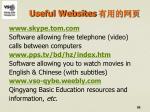 useful websites1