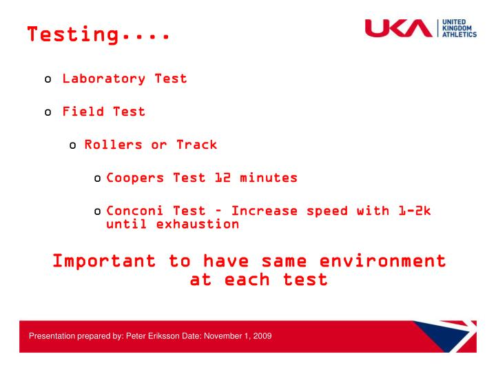 Testing....