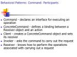 behavioral patterns command participants