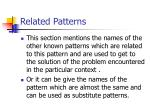 related patterns