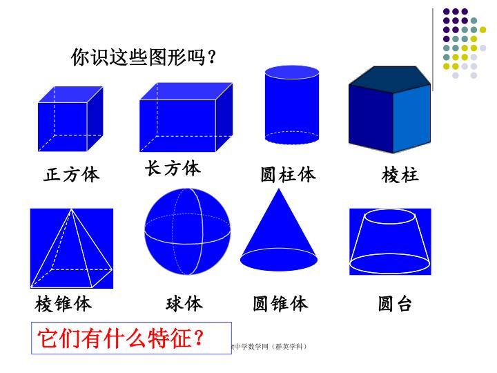 你识这些图形吗?