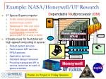 example nasa honeywell uf research