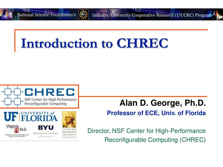 introduction to chrec n.