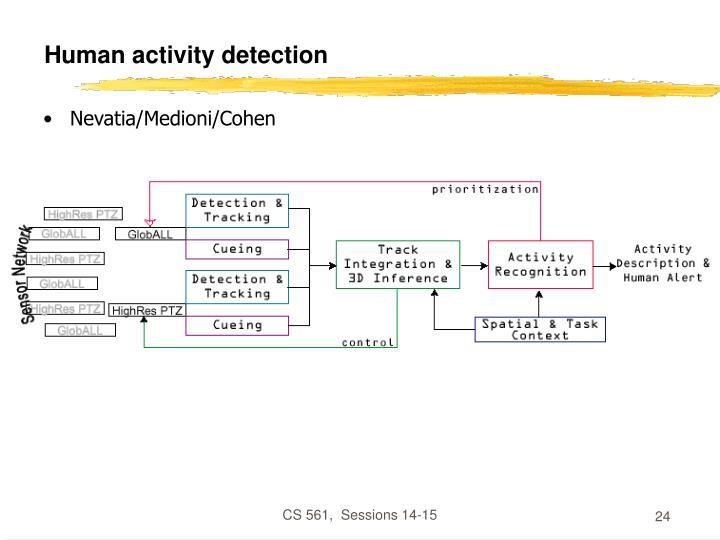 Human activity detection
