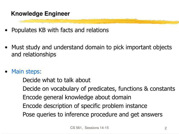 Knowledge engineer