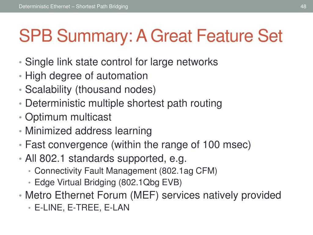 PPT - Deterministic ethernet PowerPoint Presentation - ID
