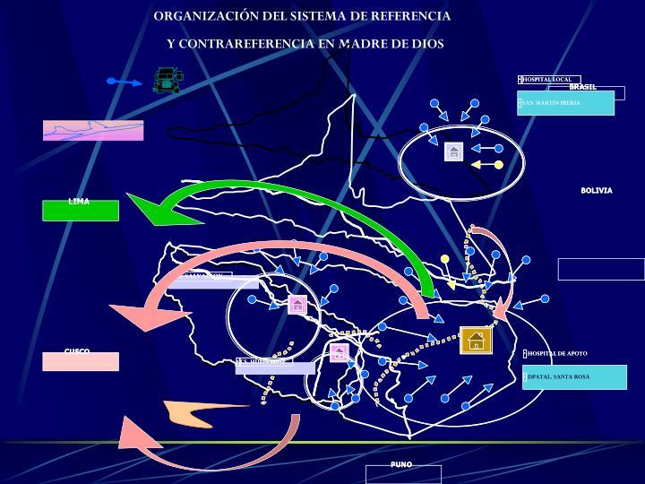 ORGANIZACIÓN DEL SISTEMA DE REFERENCIA