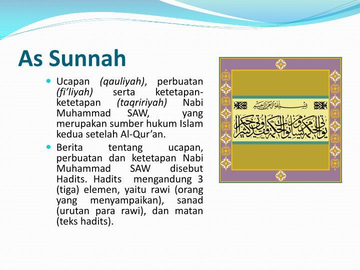As Sunnah