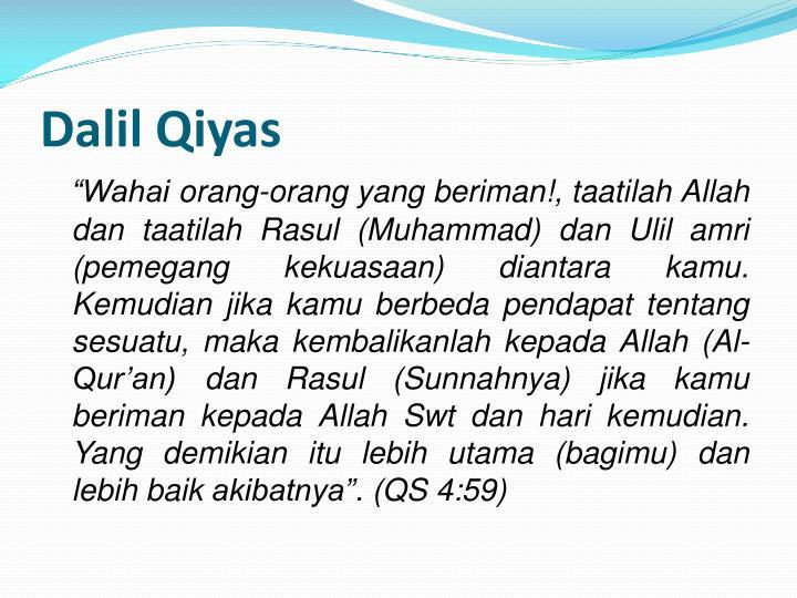 Dalil Qiyas