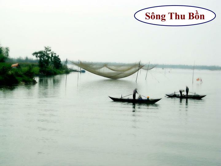 Sông Thu Bồn