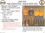 2006 vqp high virginia club virginia qsos only