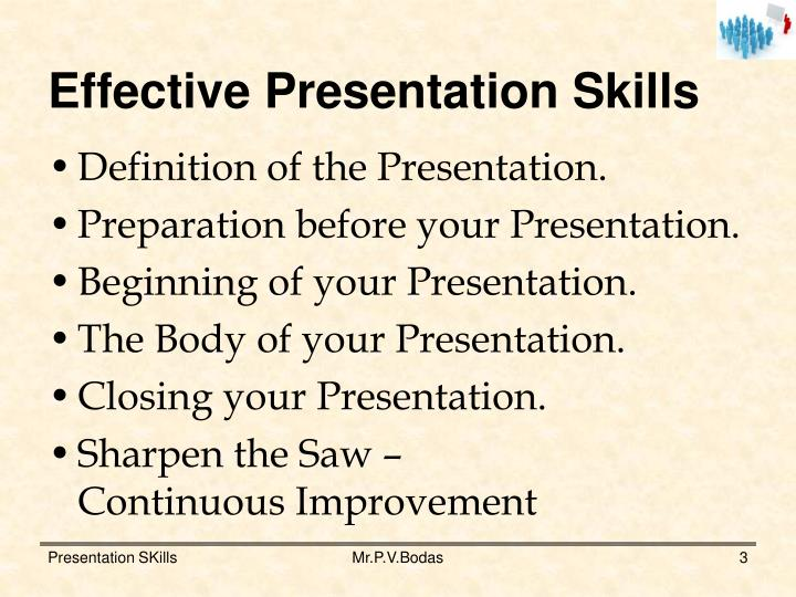 Ppt  Effective Presentation Skills Powerpoint Presentation  Id