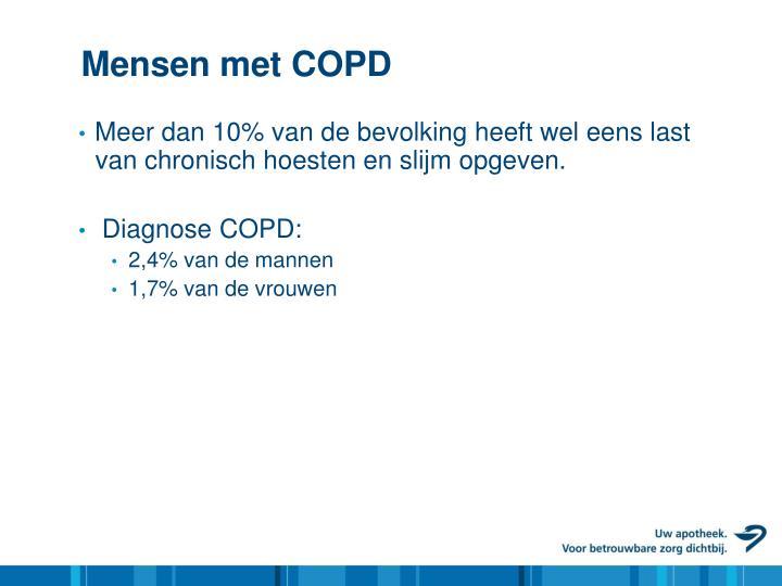 Mensen met COPD