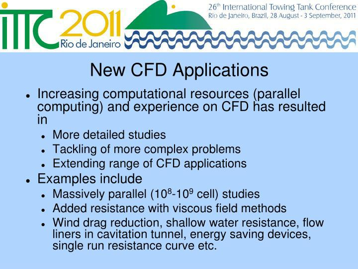 New CFD Applications