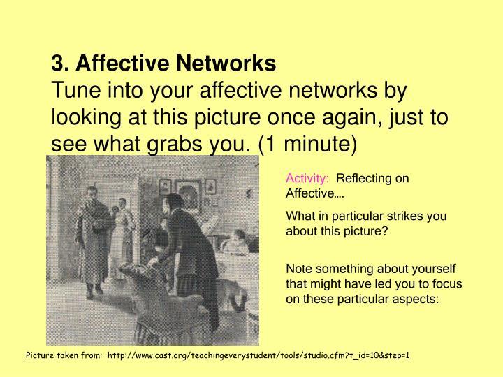 3. Affective Networks