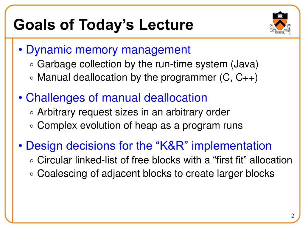 PPT - Dynamic Memory Management PowerPoint Presentation - ID