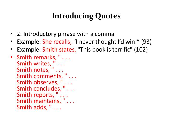 quotes in an introduction for an essay The introduction is like a showcase where the most attractive features of your essay must stand out despite its importance, it still remains one of the most problematic and upsetting part of writing a paper.