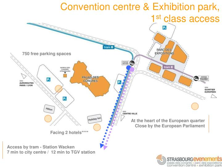 Convention centre & Exhibition park,     1