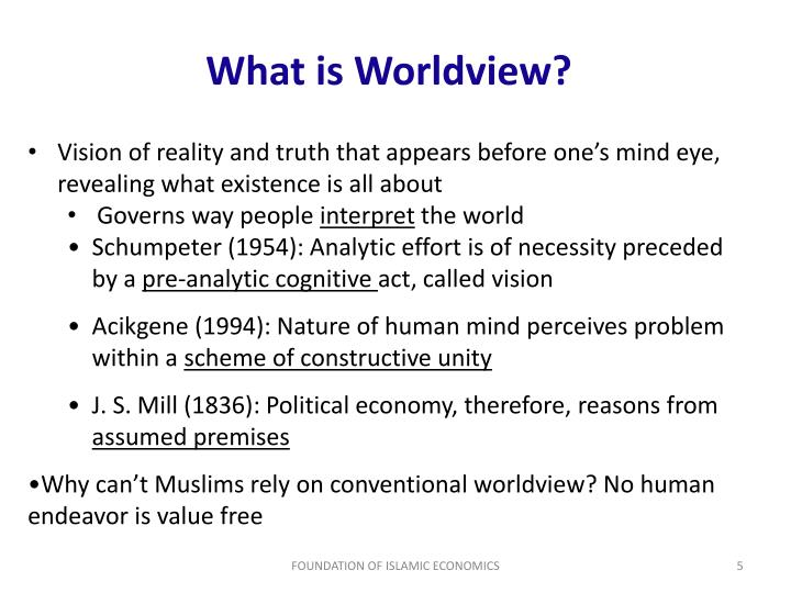What is Worldview?