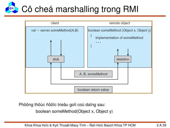 Cô cheá marshalling trong RMI