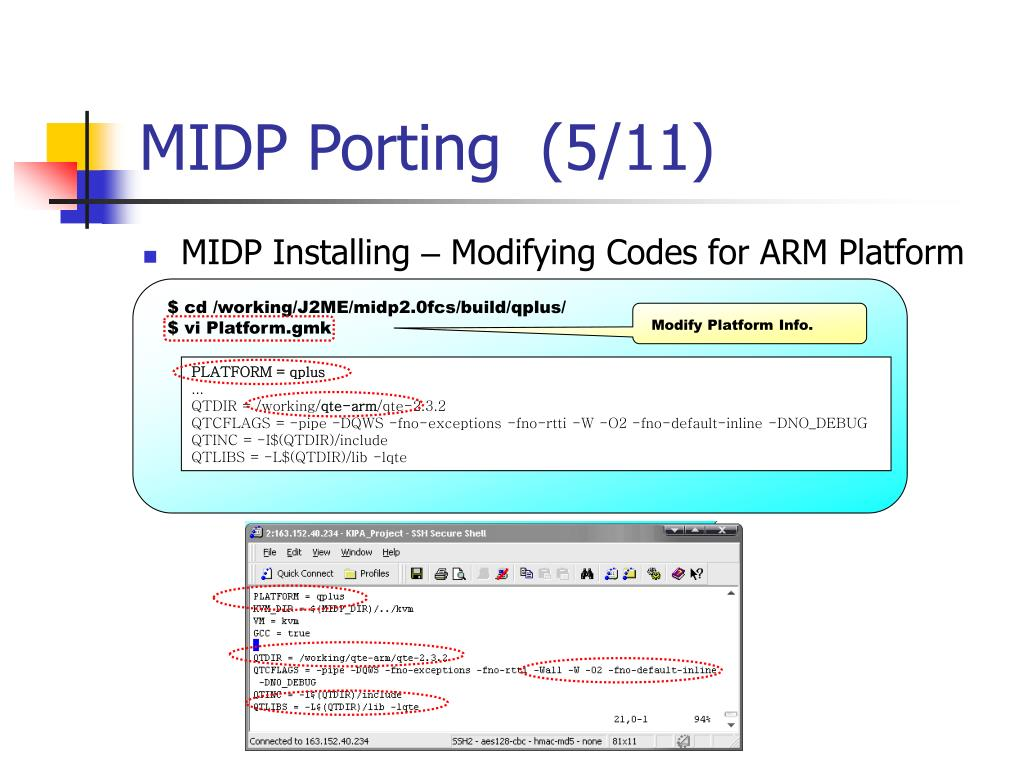 PPT - J2ME Porting on EMPOS II PowerPoint Presentation - ID