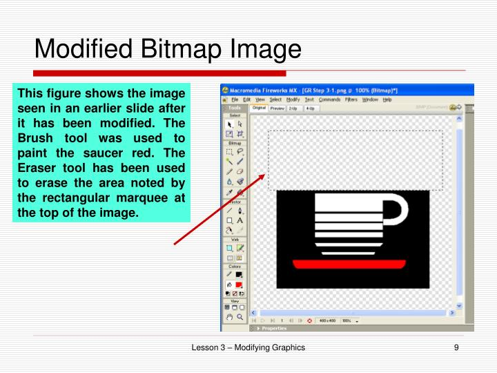 Modified Bitmap Image