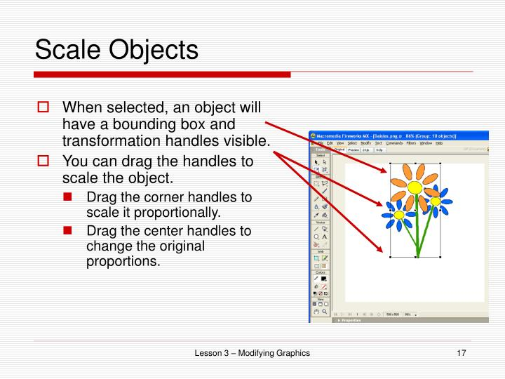 Scale Objects