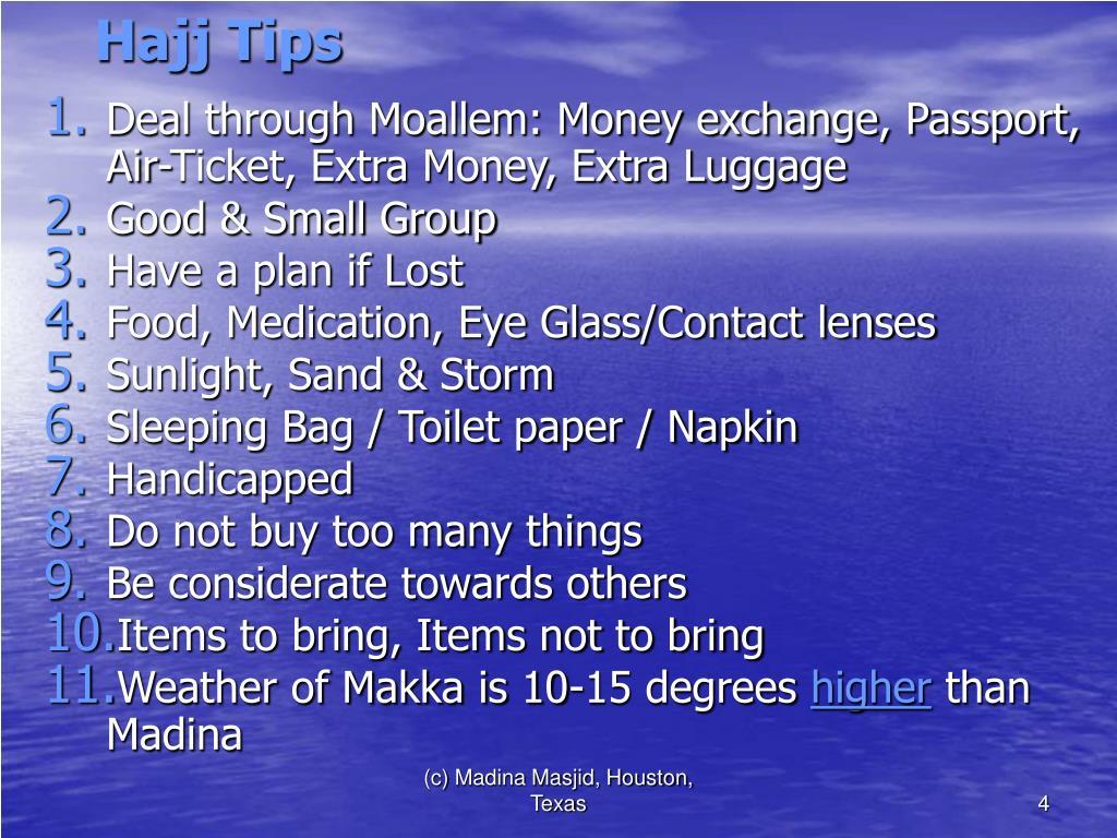 PPT - Zaynnah Tours & Travel Wishes you Hajj Mabroor inshAllah