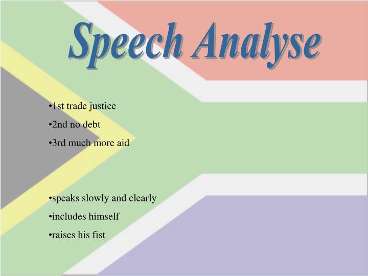 Speech Analyse